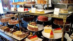 an assortment of pies and cakes