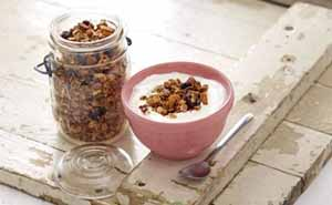 Recipes, breakfast, granola