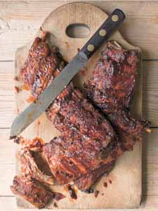 Barbecued Baby Back Ribs, New cookbook, Summer BBQ