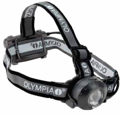 The EX230 headlamp by Olympia