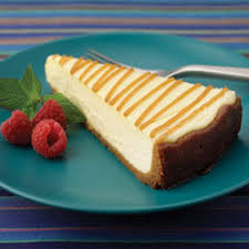 Amaretto Cheesecake with Madeleine Crust