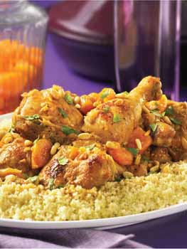 Tagine of Chicken with Apricots