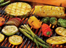 Tequila Marinated Grilled Vegetables